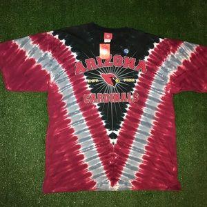 Arizona Cardinals NFL Tie Die T Shirt Tee.